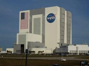 The VAB. Look at the flag for reference to size!