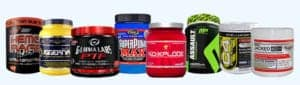 Some popular pre workout formulas